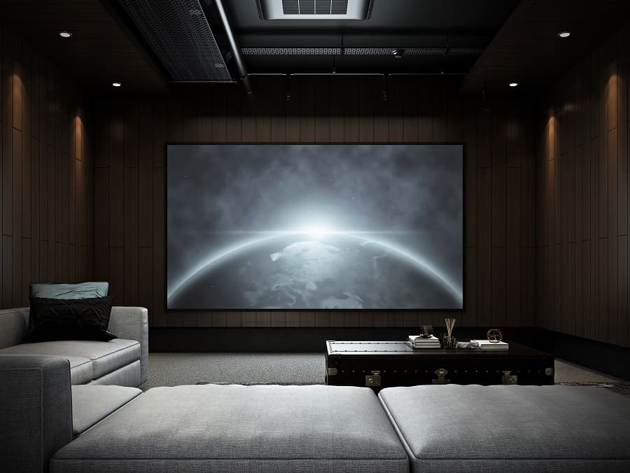 Interior Home Theater Seating Design