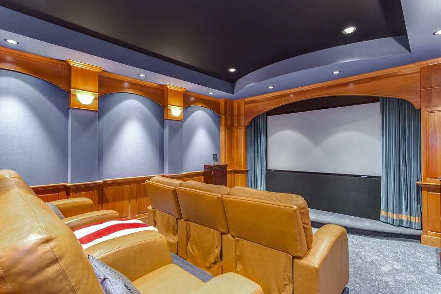 Luxury Home Theater Seating