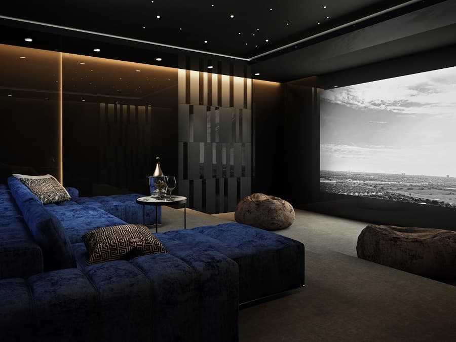 Luxury Home Theater Seating Ideas