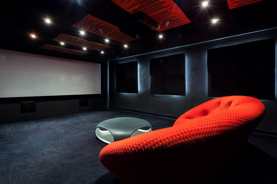 Magnificent Home Theater Seats Design Ideas