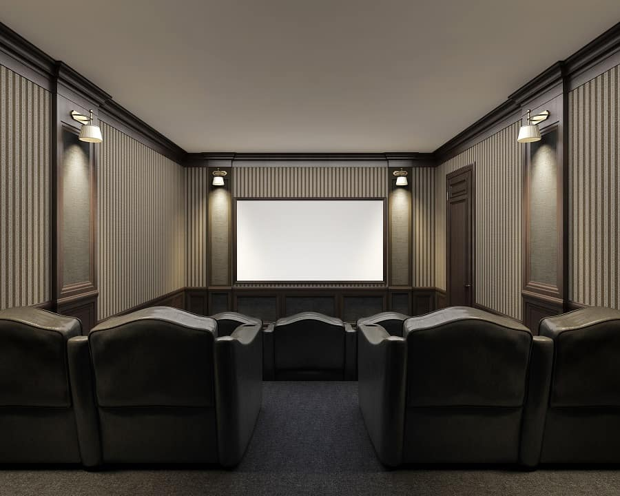 Nice Home Theater Seats Interior Ideas