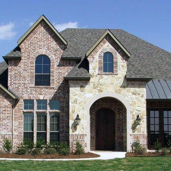 Home Cladding Designs Brick And Stone Exterior