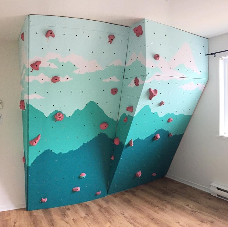 Home Climbing Wall Misc Pegboard Ideas Cathyoliepaquet