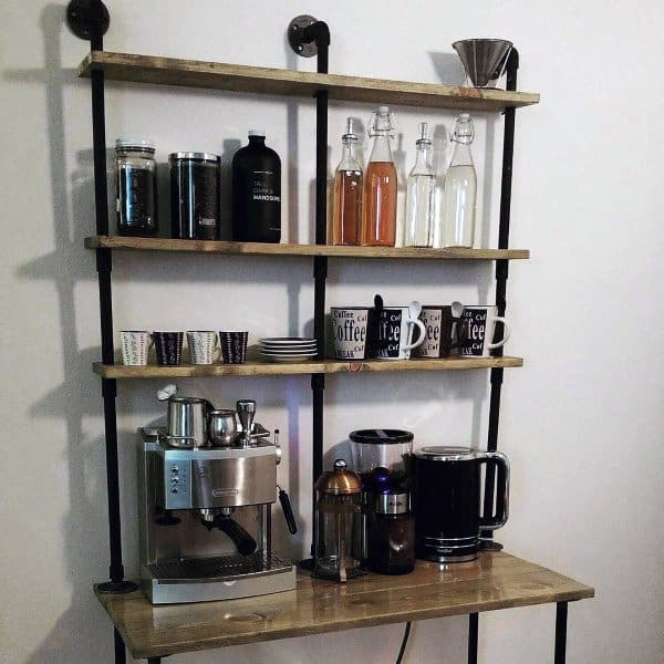 top 60 best coffee bar ideas cool personal java cafe designs. Black Bedroom Furniture Sets. Home Design Ideas