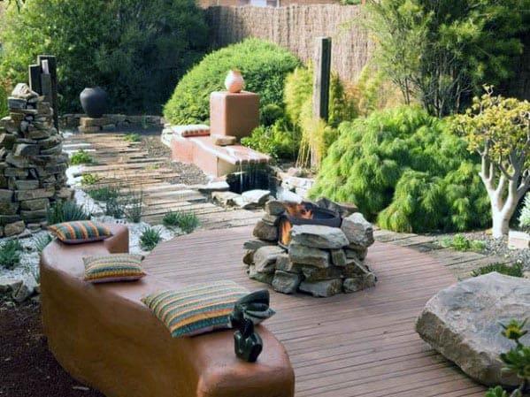 Home Deck Fire Pit Ideas