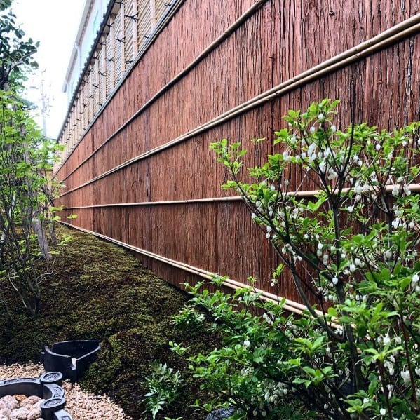 Home Design Ideas Bamboo Fence