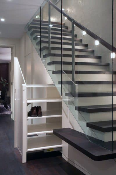 Home Design Ideas Basement Stairs Glass Railing
