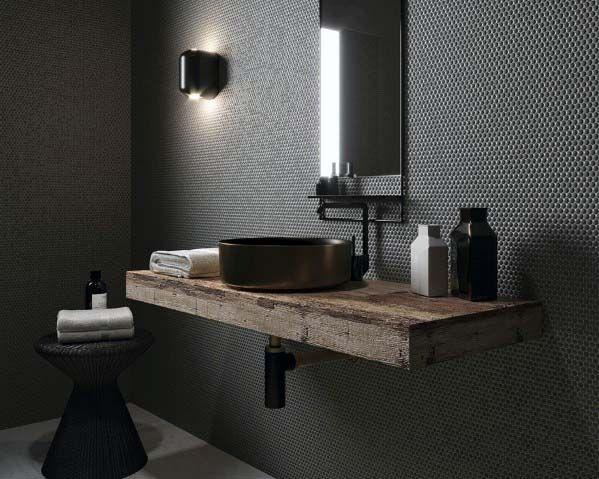 Home Design Ideas Black Bathroom