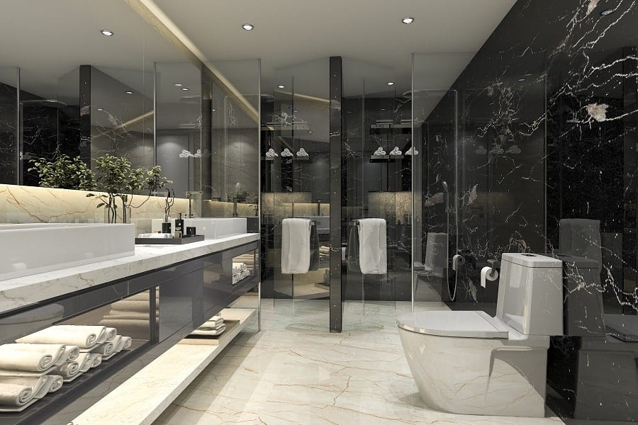 Home Design Ideas Black Marble Bathroom Vanity Countertops