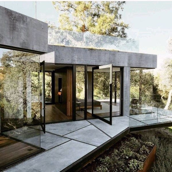 Home Design Ideas Concrete Walkway