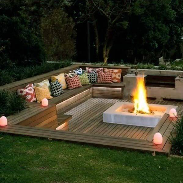 Top 60 Best Deck Bench Ideas