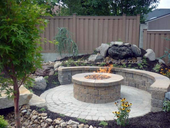 Home Design Ideas Fire Pit Landscaping