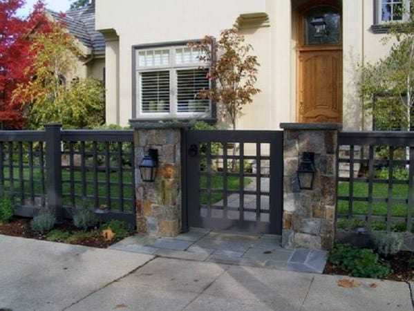 Home Design Ideas Front Yard Fence