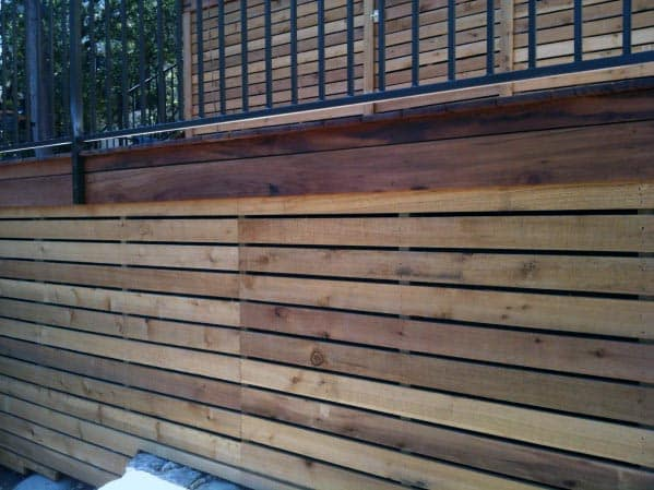 Home Design Ideas Horizontal Wood Deck Skirting