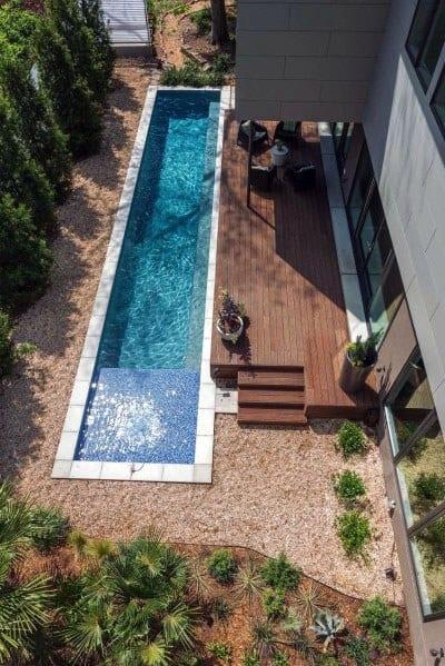 Home Design Ideas Modern Wood Pool Deck