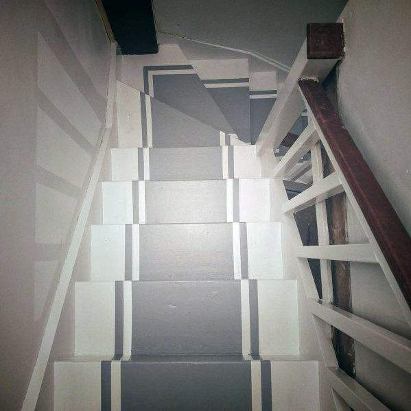 Home Design Ideas Painted Stairs