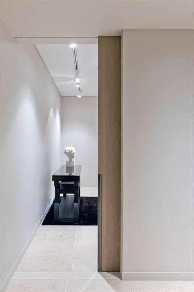 Home Design Ideas Pocket Door Contemporary Wood