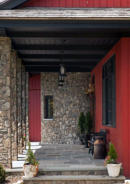 Home Design Ideas Porch Ceiling Wooden Beams