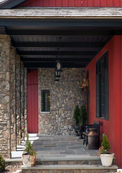 Home Design Ideas Porch Ceiling Wooden Beams