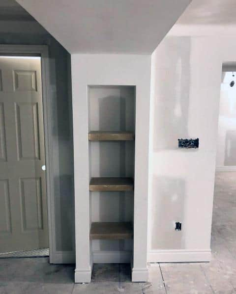 Modern Hallway Ideas: Top 40 Best Recessed Wall Niche Ideas