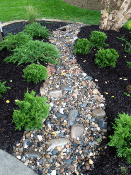 Top 50 Best River Rock Landscaping Ideas - Hardscape Designs