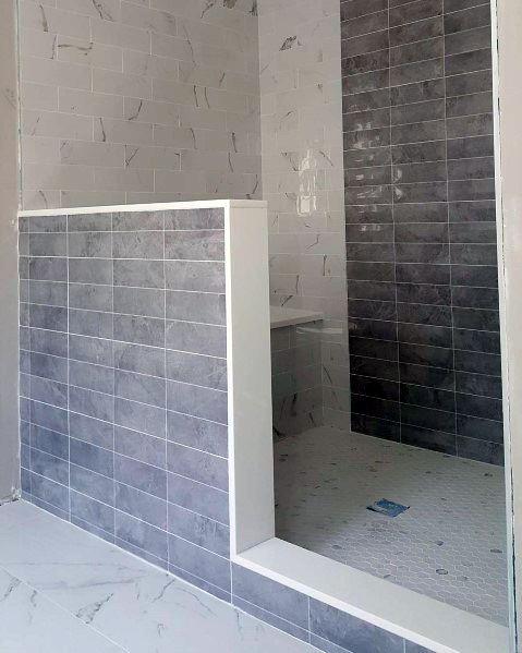 Home Design Ideas Shower Floor Tile