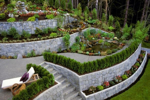 Home Design Ideas Slope Landscaping