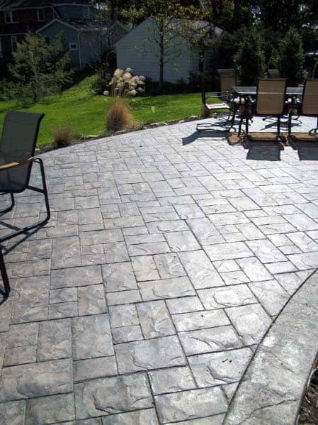 Home Design Ideas Stamped Concrete Patio