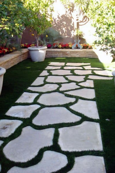 Home Design Ideas Stepping Stone Backyard