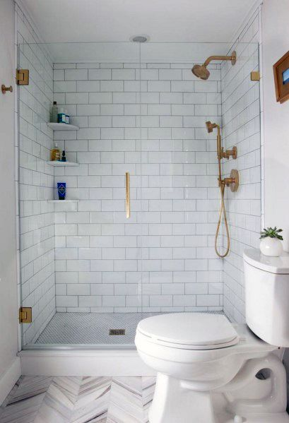 Home Design Ideas Subway Tile Shower