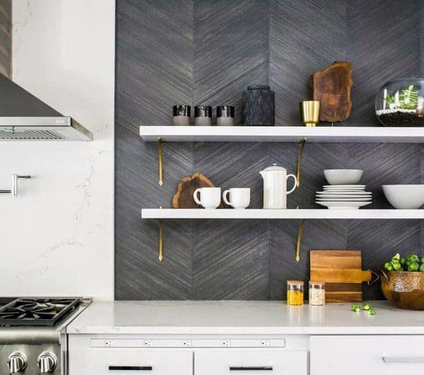 Home Design Ideas Textured Wall Kitchen Backsplash