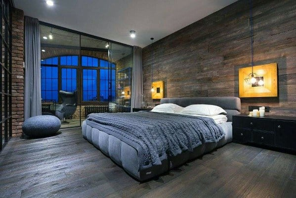 home design ultimate bachelor pad bedrooms - Luxury Men Bedrooms