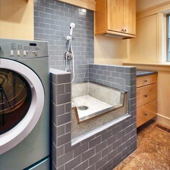 Home Dog Wash Station Inspiration