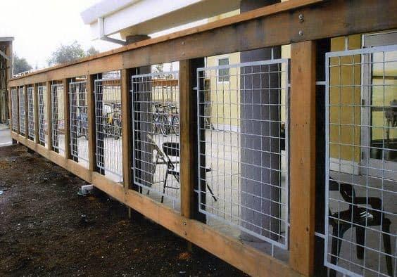 Home Exterior Designs Deck Railing Metal And Wood