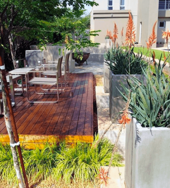 Home Floating Deck Ideas