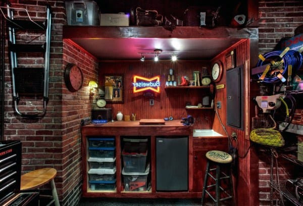 Home Garage Bar Ideas
