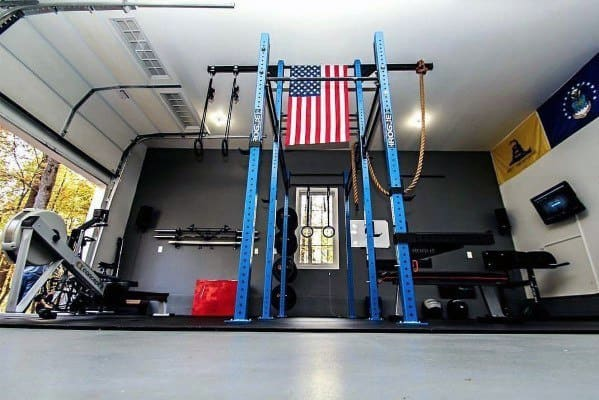 Home Garage Gym Flooring Design Idea Inspiration Concrete