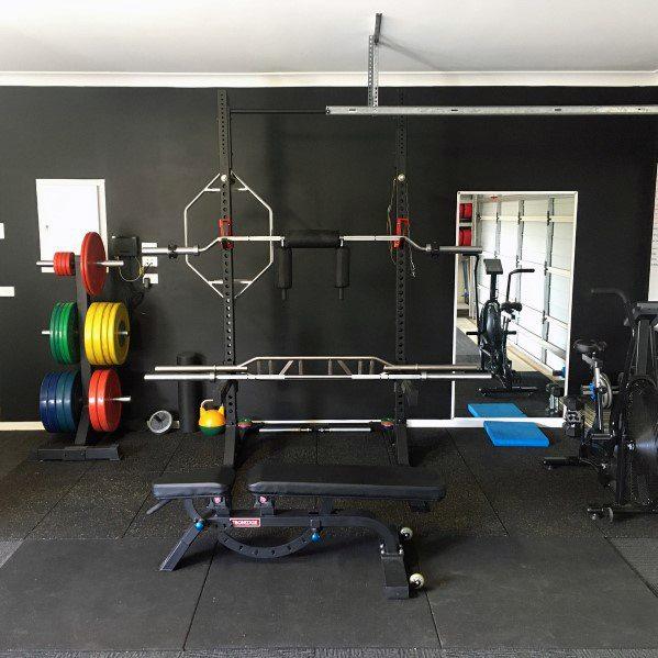 Top 75 Best Garage Gym Ideas Home Fitness Center Designs