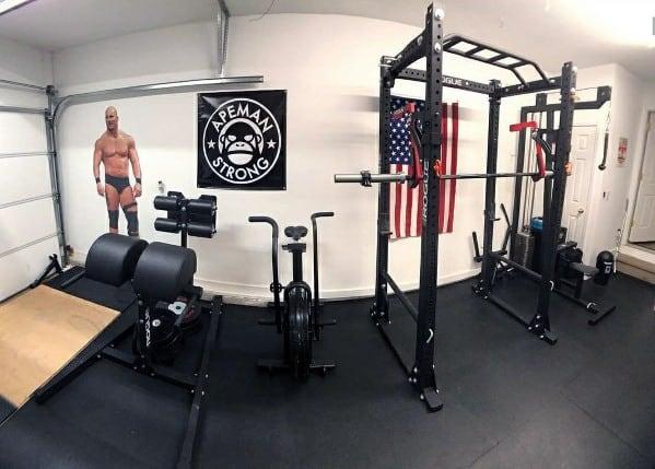 Home Garage Gym Inspiration