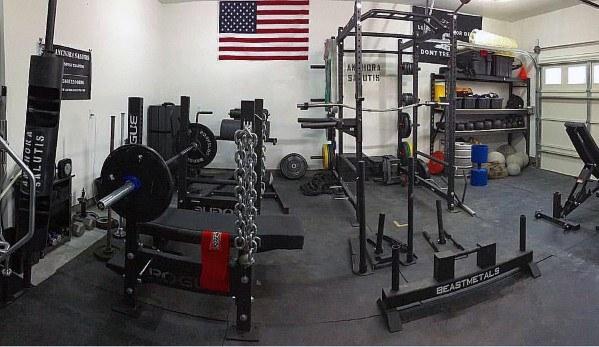 Home Garage Gyms Designs