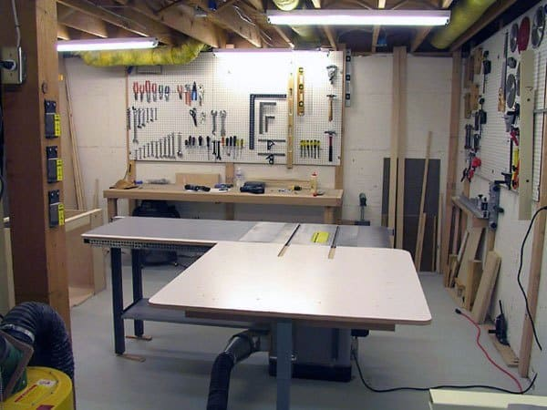 Home Garage Workshop Design Inspiration