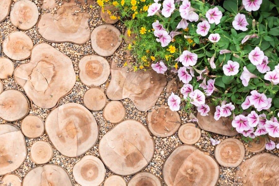 Home Garden Design Ideas Wooden Walkway
