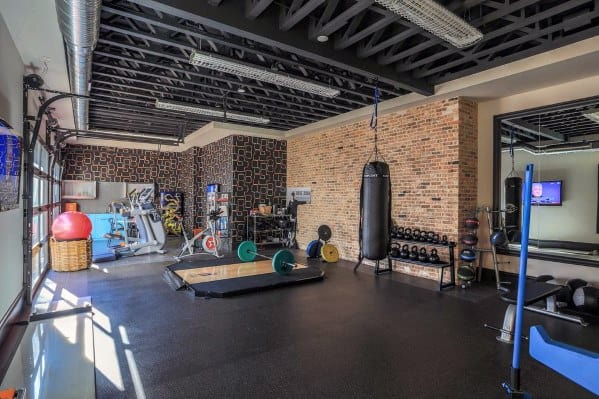 Home Gym Flooring Design Inspiration