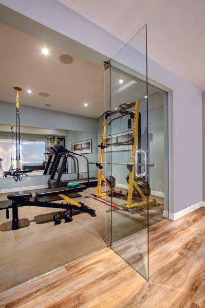 Top 40 Best Home Gym Floor Ideas