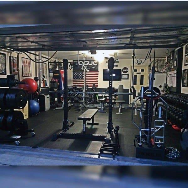 Home Gym Ideas In Garage