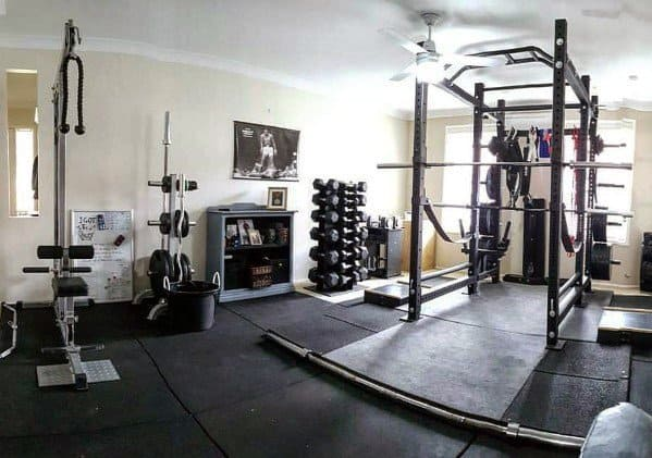 Home Gym Rubber Flooring Ideas