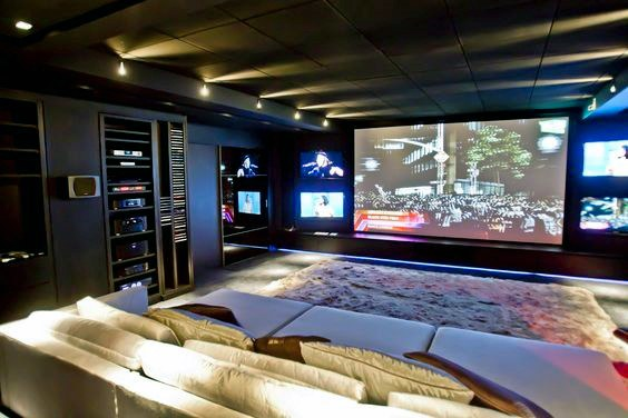 Home Home Theater Lighting Ideas