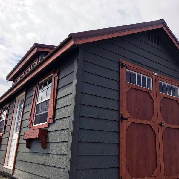 Home Ideas Backyard Shed