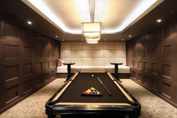 Home Ideas Billiards Rooms