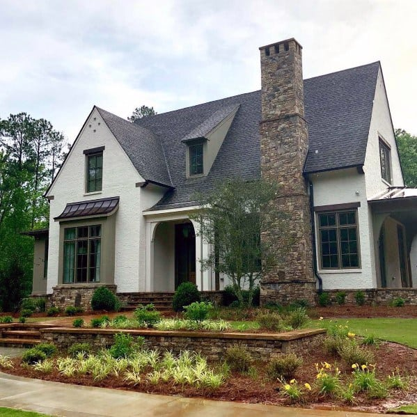 Home Ideas Brick And Stone Exterior